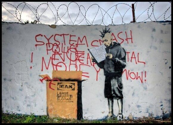 GoCom Agency | Banksy ikea