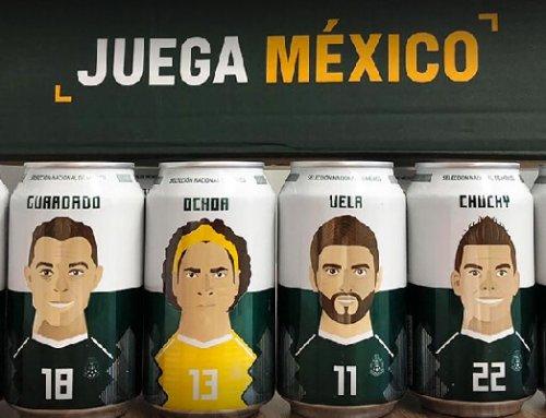 Corona apoya a México con latas mundialistas de edición especial y el hashtag #JuegaMéxico