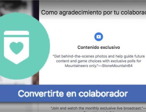 """""""Suscripción de Colaborador"""" La nueva modalidad de #Facebook que te permitirá pagar una suscripción mensual por contenido de mayor valor"""